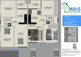 Realidade Virtual com Qr Codes - Residencial Macedo II - Construtora Mais Empreendimentos