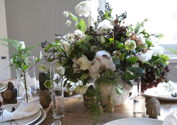 custom dinner party table
