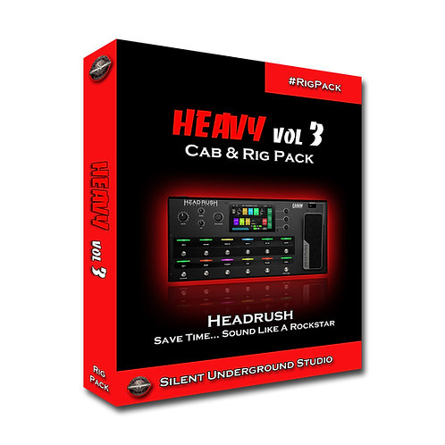 Heavy Vol 3 - Headrush / Gigboard (5 CABs + RIGs)