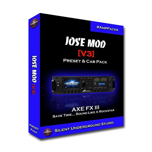 JOSE MOD [V3] - AXE FX 3 (10 Presets)