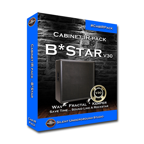 BStar V30 Cabinet IR Pack (315 Unique IRs)