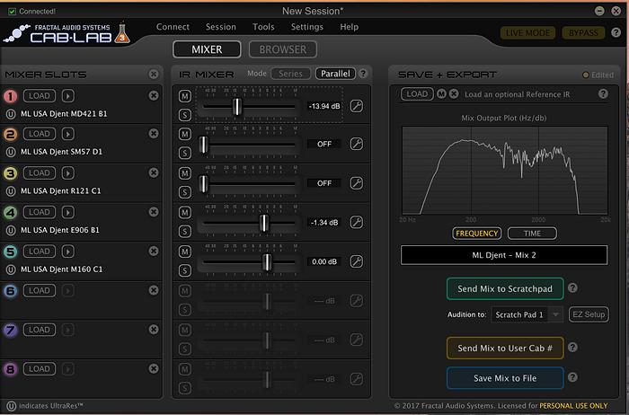 ML Sound Labs USA Djent MIX 2
