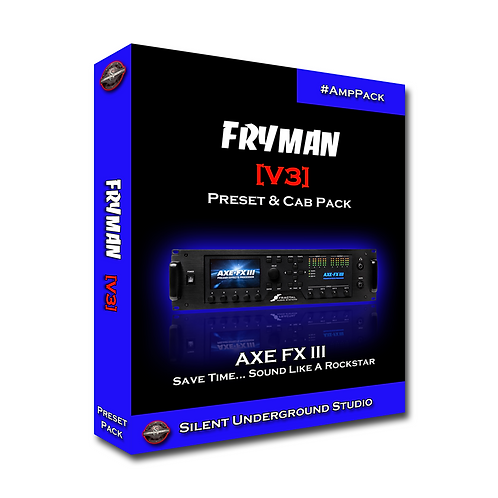 FRYMAN [V3] - AXE FX 3 (36 Presets)