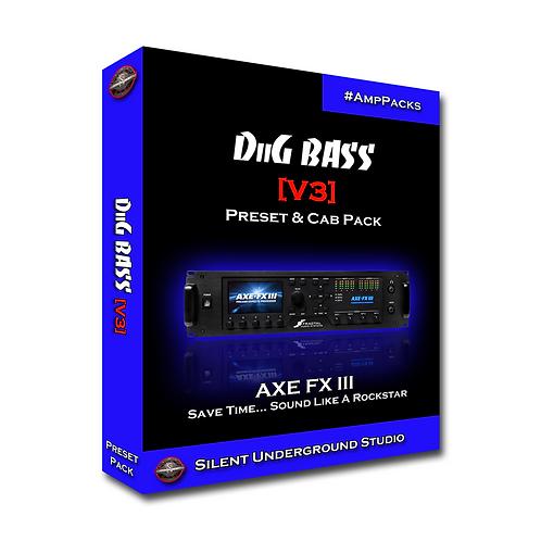 DiiG BASS [V3] - AXE FX 3 (11 Presets)