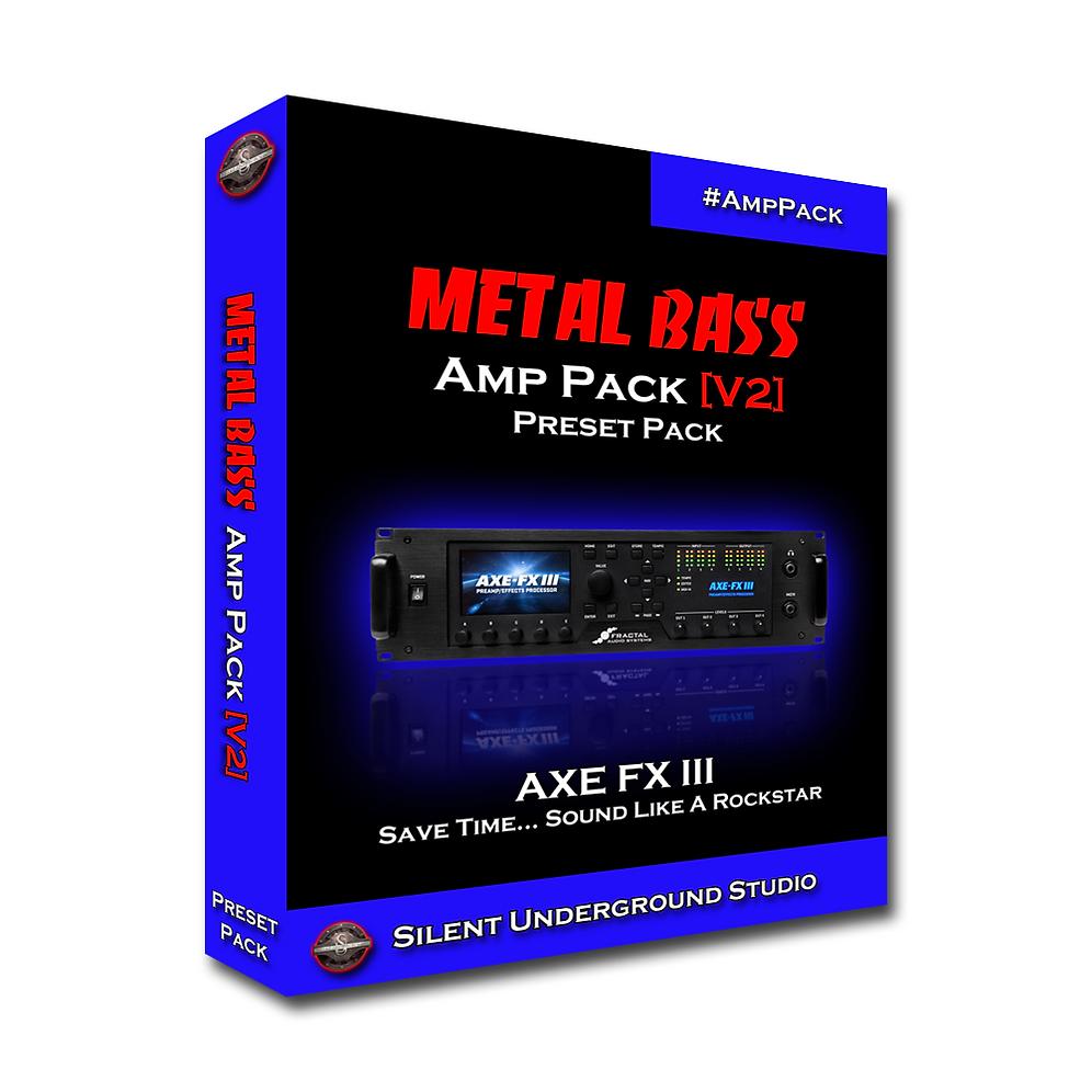 Metal Bass Pack [Version 2] (AXE FX 3)
