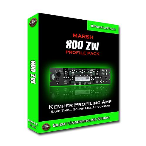 MARSH 8ooZW - Kemper (10 Profiles)