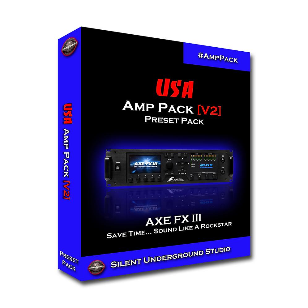 USA [Version 2] Amp Pack (AXE FX 3)