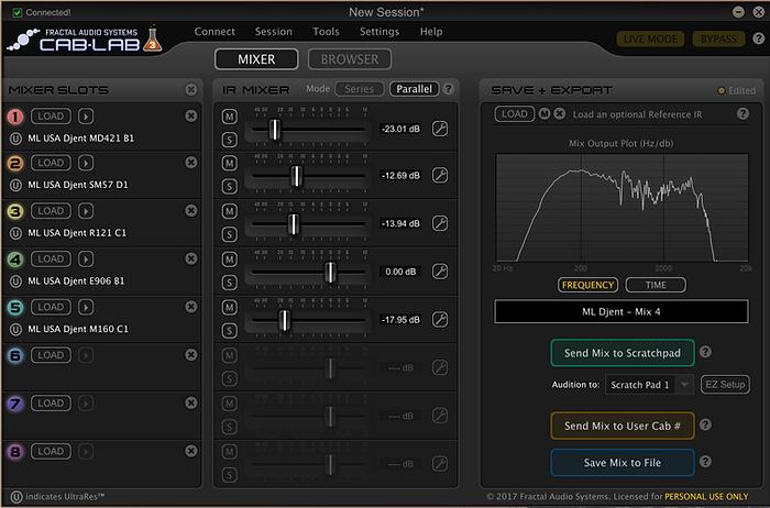 ML Sound Labs USA Djent MIX 4