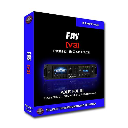 FAS [V3] - AXE FX 3 (15 Presets)