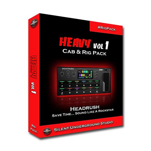 Heavy Vol 1 - Headrush / Gigboard (5 CABs + RIGs)