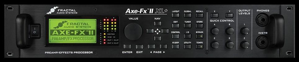 AXE FX II XL+ Front Silent Underground.p
