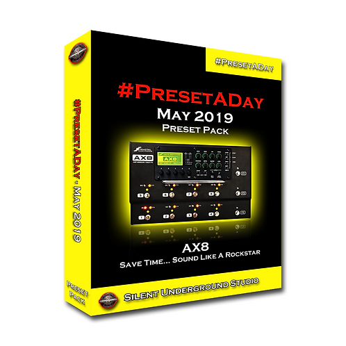 PresetADay May 2019 - AX8 (40 Presets)