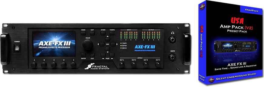 AXE FX III Presets Fractal Audio Systems