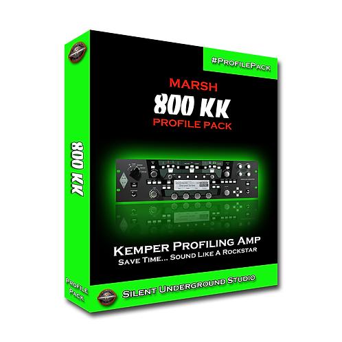 MARSH 8ooKK - Kemper (10 Profiles)