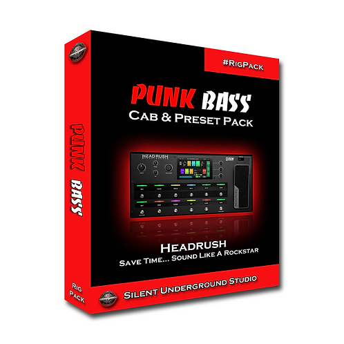 PUNK BASS - Headrush / Gigboard (5 CABs + RIGs)