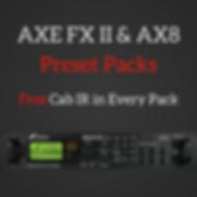 Silent Underground Studio AXE FX II & AX