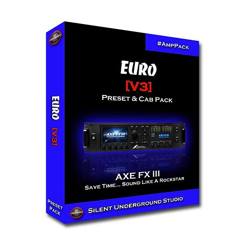 EURO [V3] - AXE FX 3 (24 Presets)