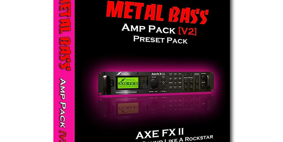 Metal Bass [V2] - AXE FX 2 (37 Presets)