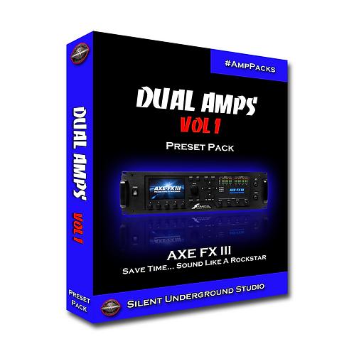 Dual Amps Vol 1 - AXE FX 3 (20 Presets)