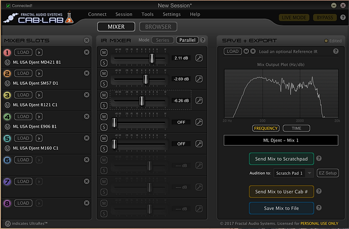 ML Sound Labs USA Djent MIX 1