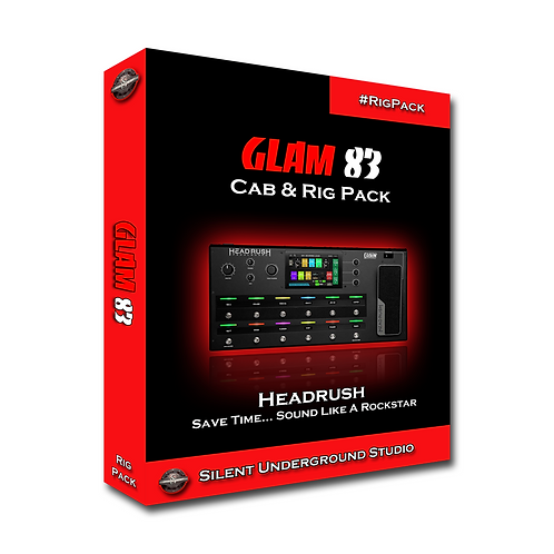 GLAM 83 - Headrush & Gigboard (5 CABs + RIGs)