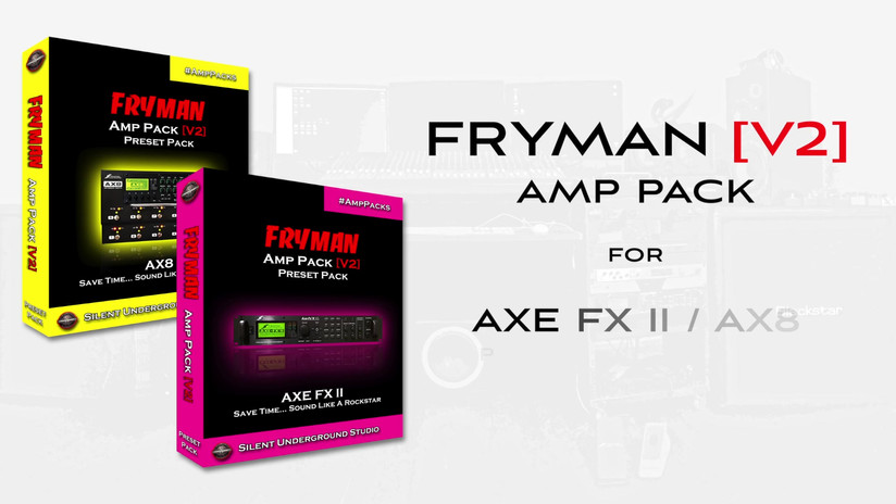 FRYMAN V2 AMP PACK - FRYMAN 18 C45 A - A