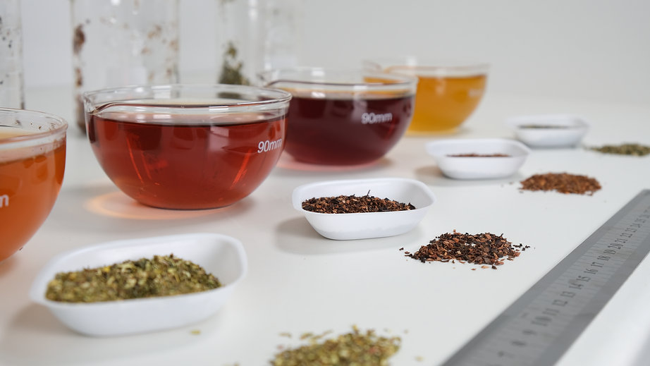 Honeybush Tea in Sensory Lab Cape Natural Tea products bulk supplier
