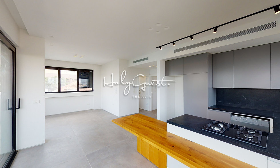 2BR apartment on Allenby / Geula #12
