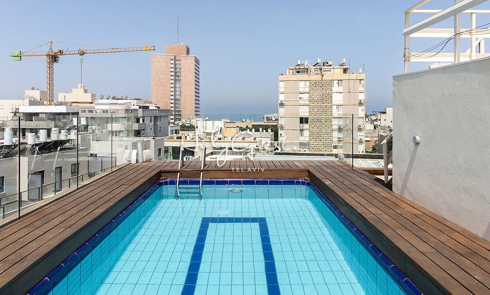Splendid 1BR Penthouse with private pool