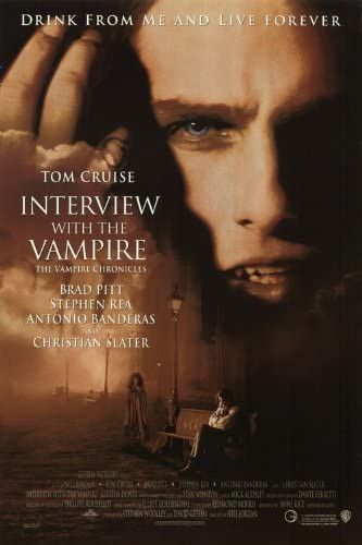 """""""Interview with the Vampire"""" movie poster."""