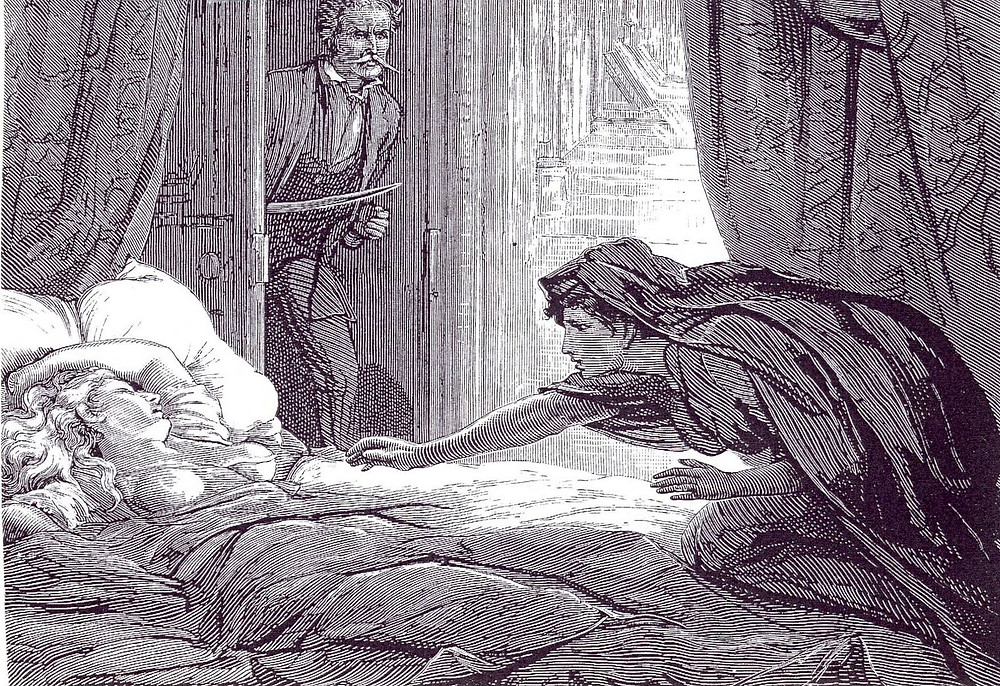 Image of a scene from Carmilla.