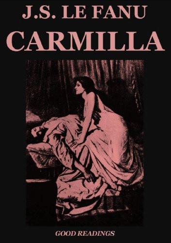 Book cover of Carmilla by Sheridan le Fanu.