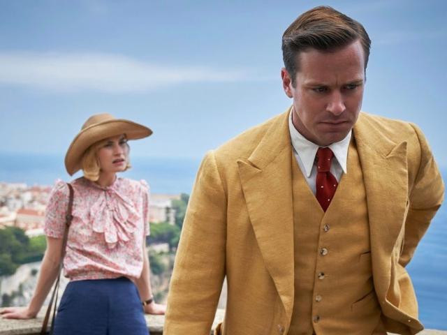 Lily James as the unnamed main character Armie Hammer as Maxim de Winter.