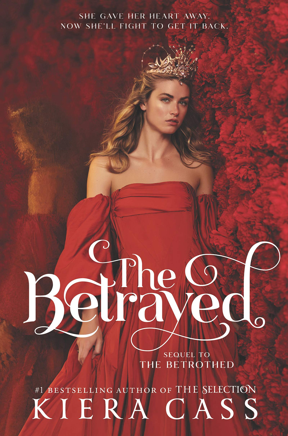 """Book cover of """"The Betrayed"""" by Kiera Cass."""
