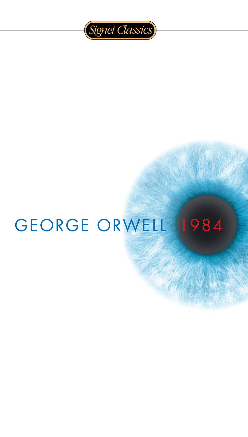 Cover of 1984 by George Orwell