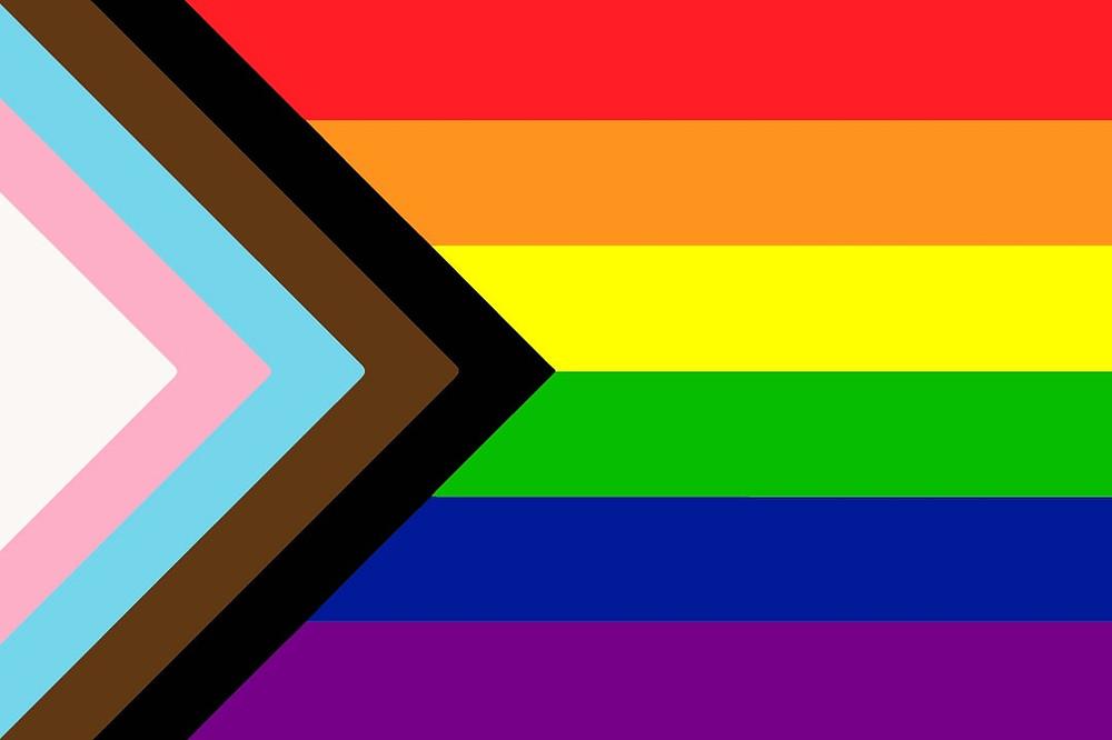 Current pride flag.
