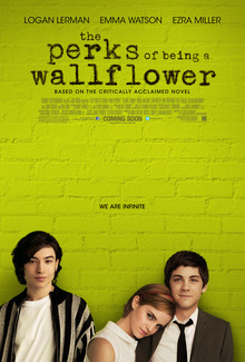 Perks of Being a Wallflower movie poster.