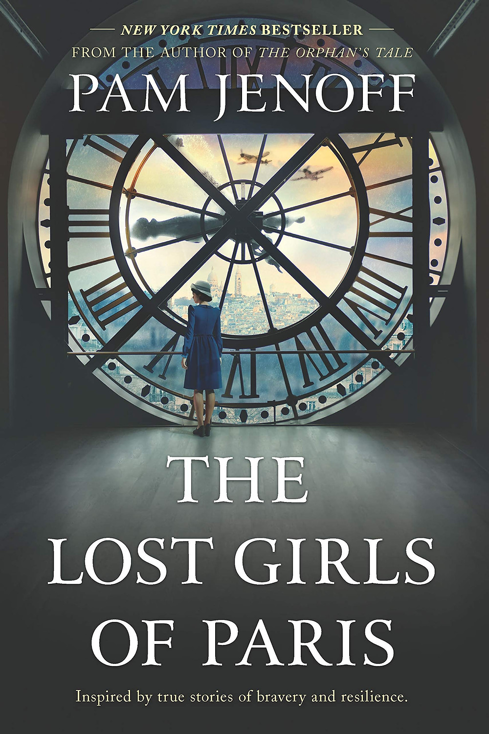 Book cover for The Lost Girls of Paris by Pam Jenoff.