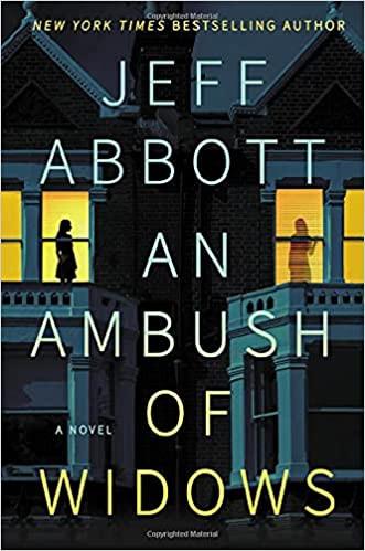 "Book cover of ""An Ambush of Widows"" by Jeff Abbott."