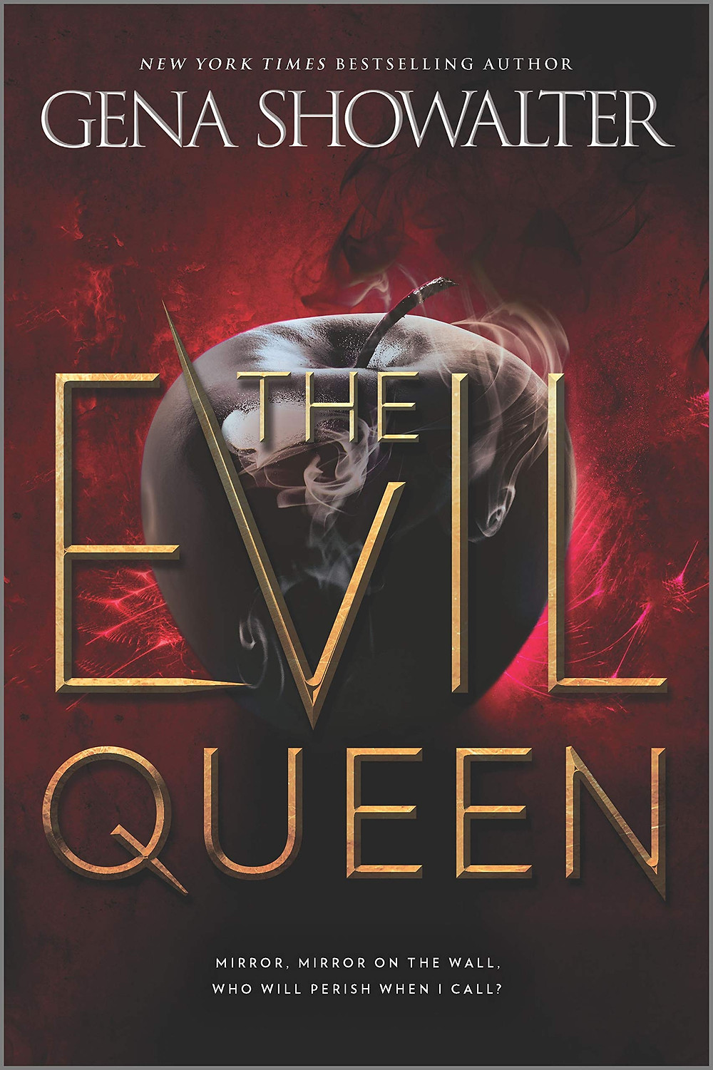 """Book cover of """"The Evil Queen"""" by Gena Showalter."""