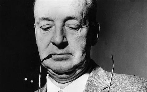 Photo of author Vladimir Nabokov.