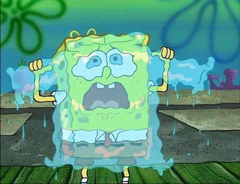 "SpongeBob Squarepants ""I made you a sweater out of my tears."""