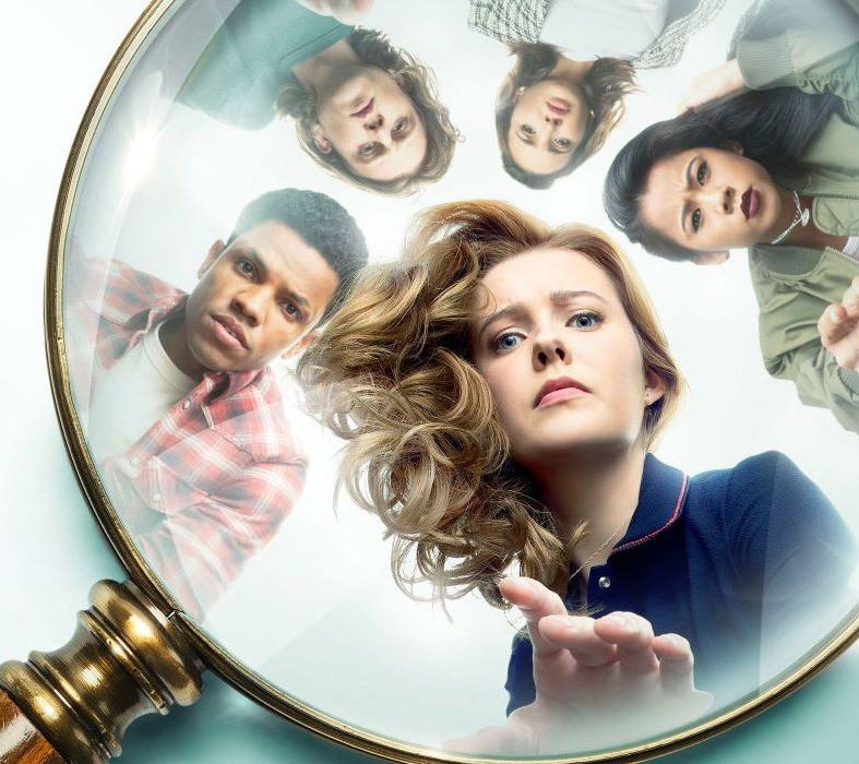 Season 2 poster for the CW's Nancy Drew