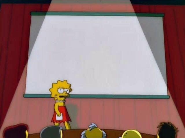 Lisa Simpson meme.