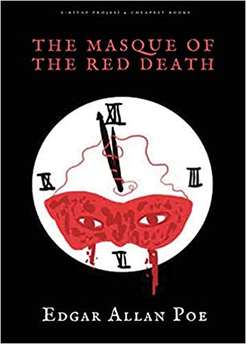 """Cover of """"The Masque of the Red Death"""" by Edgar Allan Poe"""