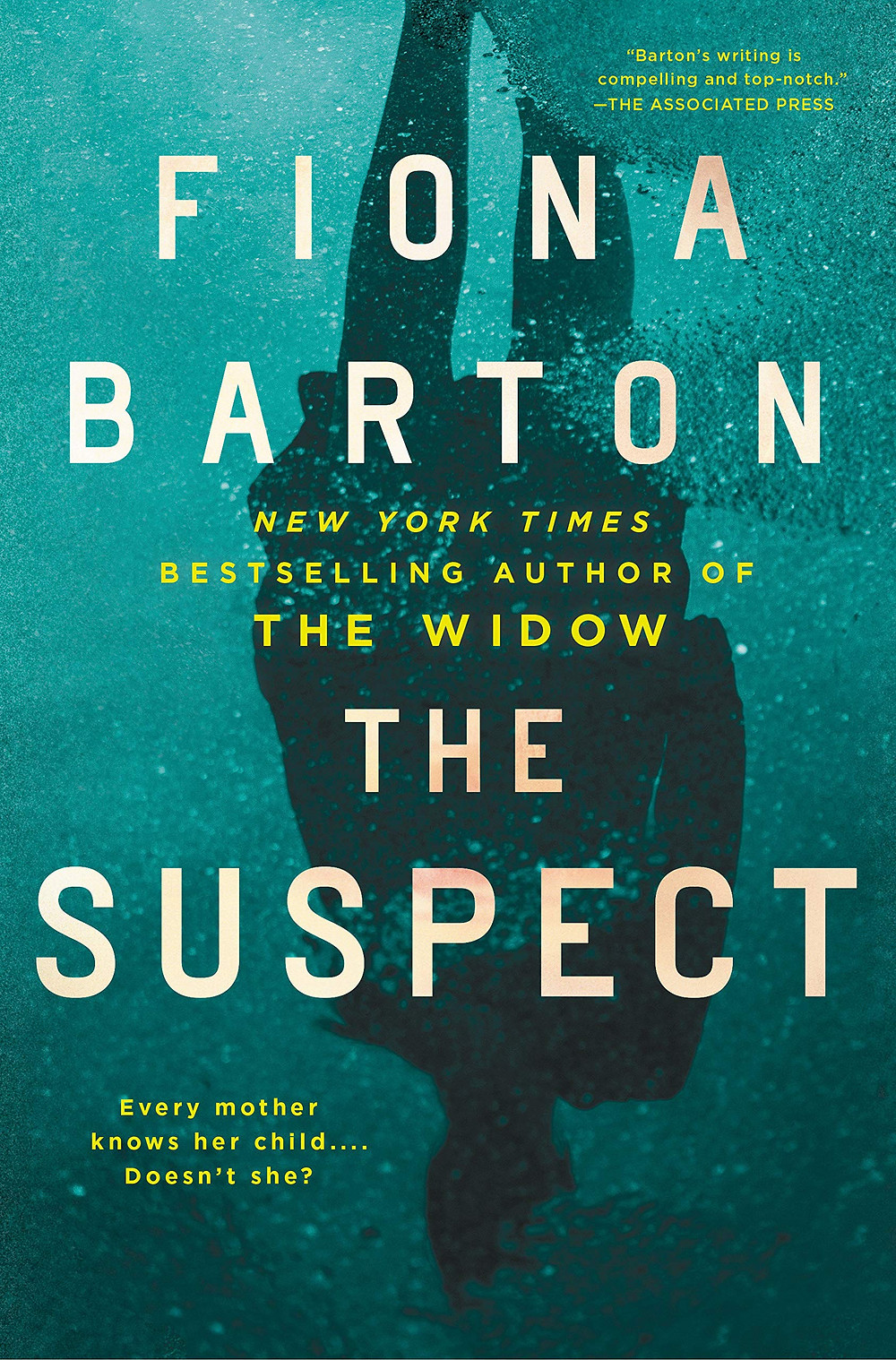 Book cover of The Suspect by Fiona Barton.