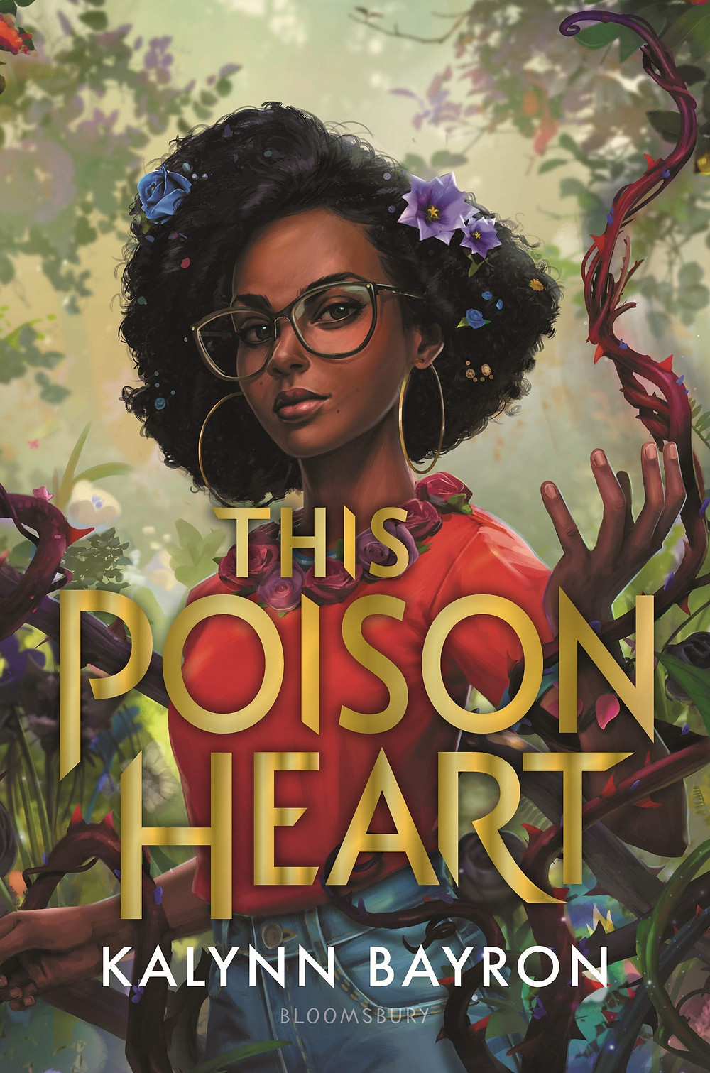Book cover of This Poison Heart by Kalynn Bayron.