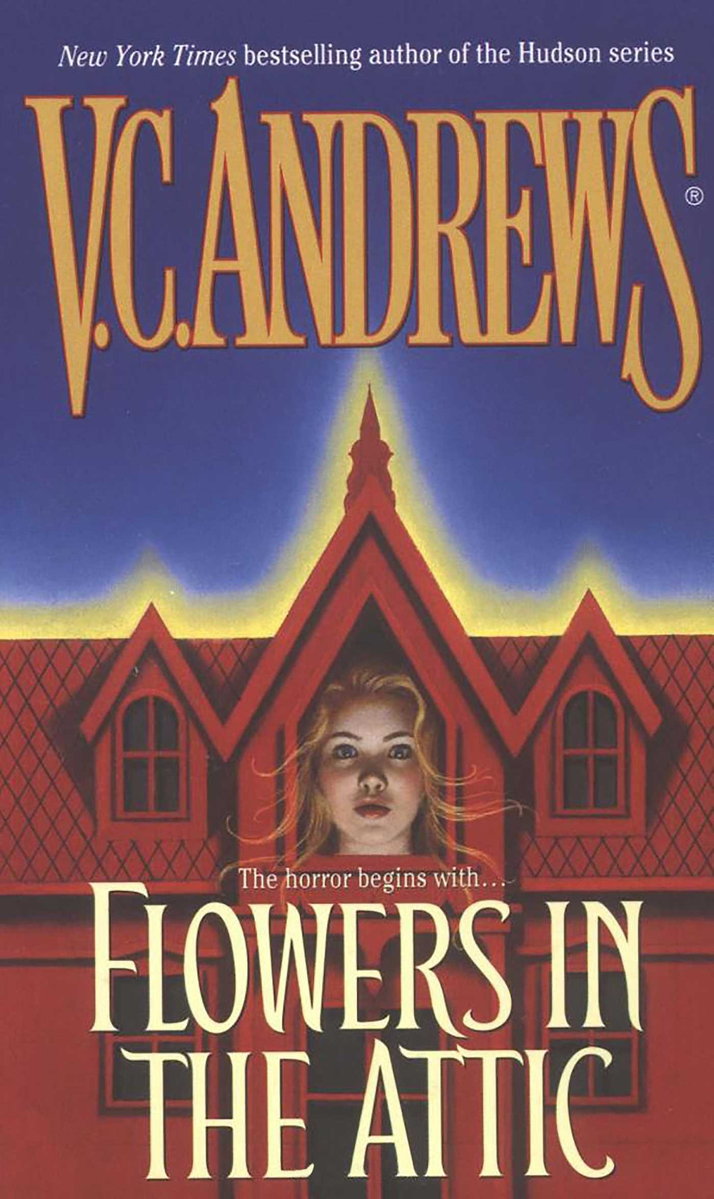 """Book cover of """"Flowers in the Attic."""""""