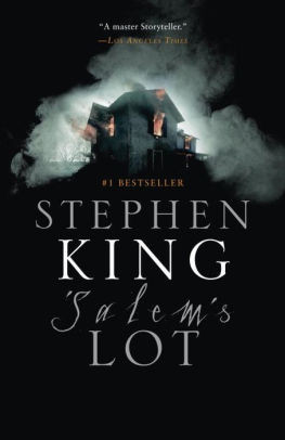 The cover of Salem's Lot by Stephen King