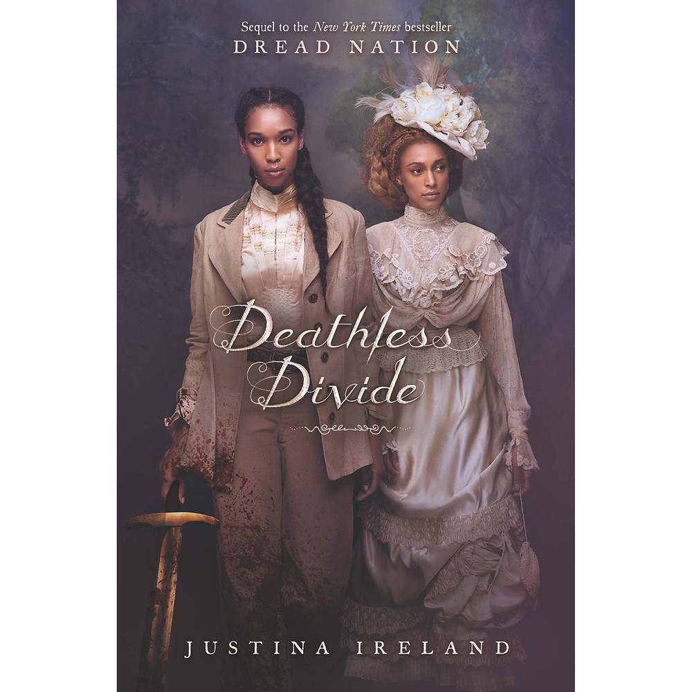 Book cover of Deathless Divide by Justina Ireland.